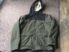 boys gap. coat hooded 13xl  green colour  winter coat