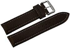 Uhrenarmband Braun.22mm.Hochwertiges Lederband