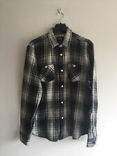 STÜSSY Big Mac Checked Cotton-Flannel Shirt Size M RRP £80