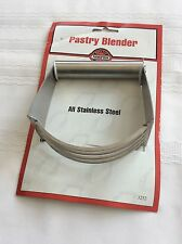 Norpro 18/10 Stainless Steel Deluxe Pastry Blender Cutter For Pie Crusts 3247