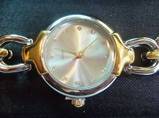 ELIZABETH TAYLOR VINTAGE LADIES DRESS WATCH NEW IN BOX ROUND face NEW IN BOX