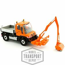 Busch 50915 Mercedes Unimog U430 Highways Cutter Cleaner 1:87 HO Scale Model Car
