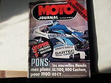 moto journal n446 7fev1980 honda gl1100 400custom 80cy