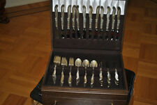 Silver melody by International sterling silver flatware set 12 service 72 pieces