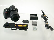 NIKON D5000 digital SLR AF-S VR 18-55 18-55mm 10615 Ausl. Count top  /17