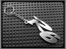 KEYRING for YAMAHA YZF R6 - STAINLESS STEEL - HAND MADE - CHAIN LOOP FOB