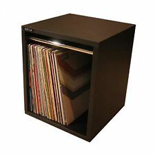 "Sefour 12"" LP Vinyl Record Carry Storage Box 115 (small, tobacco walnut)"