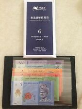 (JC) PCCB Banknote Sleeve No 6 (80mm x 170mm @ 50 pcs per pack)
