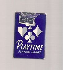 PLAY TIME MINI PLAYING CARDS