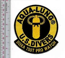 SCUBA Diving USA US Divers Aqua-Lung Doxa 750T Pro Diver Watch Patch Loa Angeles