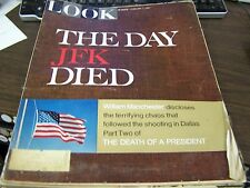 """VINTAGE LOOK  FEB 7TH 1967 - """"THE DAY JFK DIED """"  - VG  GREAT ADS"""