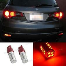 2xRed High Power 7443 7505 T20 Led 22-5730 SMD Tail Rear Bulb Stop Brake Lights