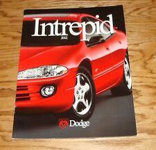 Original 2002 Dodge Intrepid Deluxe Sales Brochure 02