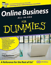 Online Business All-in-One For Dummies (UK Edition) Paperback Book