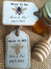 50 qty Meant To Bee Honey Favors Mini Honey Jars