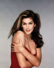 Cindy Crawford Color 8x10 Photo 20 SEXY BARE SHOULDER