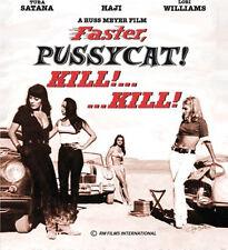 Faster Pussycat! Kill! Kill! Blu-ray Russ Meyer cult classic!