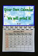 2017 - Your Own Photo Magnetic Calendar Fridge Magnet E