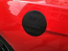 Fuel Tank Cap Cover Gas Cover Mouldings Trim For 2015 Ford Mustang Carbon Fiber