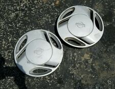 "TWO (2) OEM 1991-93 Nissan NX (Pulsar) 13"" Hubcaps Wheel Covers p/n 40315-62Y10"