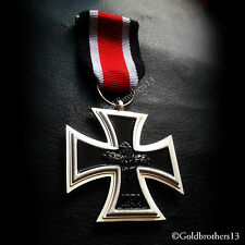 German Iron Cross 2nd Class 1939 WW2 Antique Military Medal Armed Force Repro: