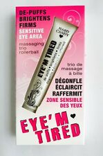 Hard Candy Eye'M TIRED Massaging Trio Rollerball, .59 fl. oz  SEALED!