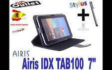 "FUNDA NEGRA TABLET AIRIS IDX TAB 100 7"" UNIVERSAL BARATA el mundo as TAB1000"