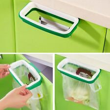 OVER-DOOR Carrier bag holder.Cupboard door bin bag holder. Plastic bag/bin liner