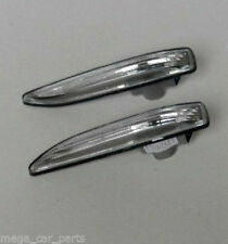 BMW 7 Series (E65/66) 2001-2008 Pair Side Wing Indicators Repeaters New - CLEAR