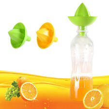 Fruit Lemon Orange Squeezer Lime Citrus Juicer Juice Manual Funnel Press Kitchen