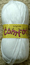 100g Comfort Aran Baby Knitting Wool Yarn King Cole