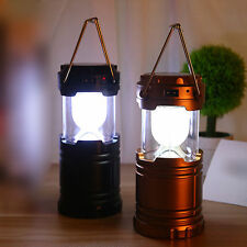 New Outdoor Camping Solar Power Portable Lantern Rechargeable Emergency LightG85
