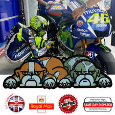 Valentino Rossi 46 GUIDO Dog Laminated 3M Reflective Decals Sticker 195mm Q073