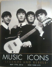 NEW THE BEATLES CATALOG JULIENS AUCTIONS 2014 MUSIC ICONS LEGENDS & REBELS BOOK
