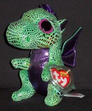 "TY BEANIE BOOS - CINDER the 6"" DRAGON - MINT with MINT TAG"