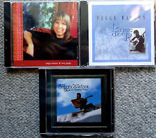 PEGGY WATSON 3 cd SET Love Songs/Knee Deep/A Thousand 1000 Wishes Greatest Hits