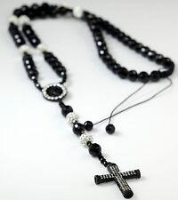 Rosary Handmade Shamballa Rosary Necklace with Disco Balls Crystal Beads. Usa