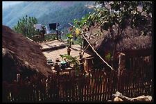 147082 Chiang Rai Akha Village A4 Photo Print