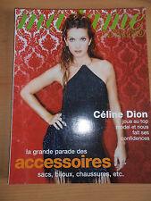 Madame Figaro Céline Dion du 21 / 03 / 1998  ( ref F1 )