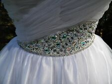 Prom Dress Pageants Gown Special Occasion WOW couture white