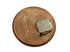 S471 Quadermagnete 10 Stück 5x5x2mm sehr starke Magnete z.B. für Reedkontakte