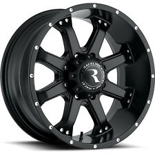 16 Inch Black Racleine Assault Wheels Rims Ford F250 F 350 Excursion F 250 8x170