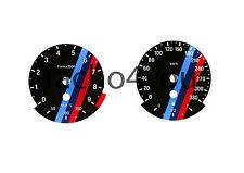 Bmw de tacómetro para 3er e90 & 5er e60 gasolina 330 multaránpor km/h m3 m5 5020 negro