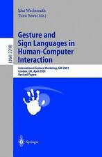 Lecture Notes in Computer Science: Gesture and Sign Languages in...