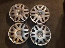 "Set Of 4 Brand New 2004 05 06 07 08 09 10 Sienna 16"" Hubcaps Wheel Covers 61124"