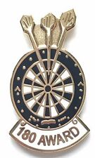 Darts 180 Award Enamel Lapel Pin Badge
