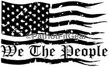We The People,Dont Tread On Me,Flag,Second Amendment,2A,Molon Labe,Vinyl Decal,