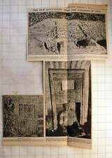 1925 The New Discoveries Near The Pyramids Of Giza Tomb Of Priest, Head Gardener
