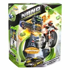 Bike Race Track Spin Master Nano Speed Moto Meltdown Ages 4+ New Toy Boys Fight