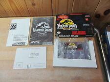 SNES Super Nintendo Game – Jurassic Park 1 – Complete in Box CIB